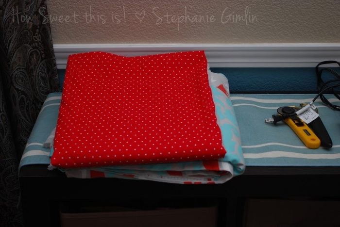 Baby Bedding- a DIY update!