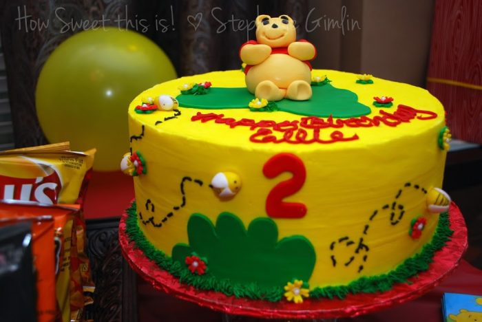 Miss E's 2nd birthday Pooh Party!