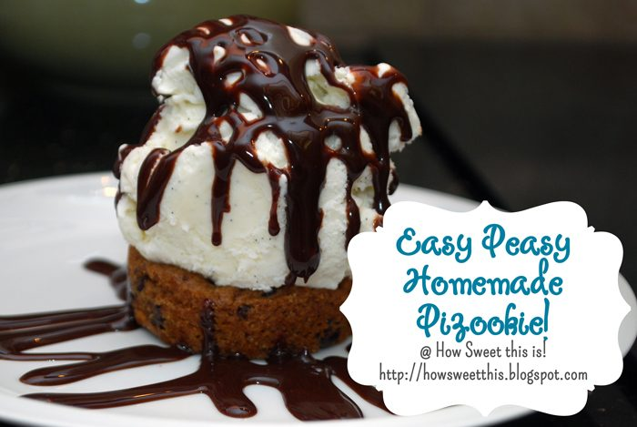 Easy Peasy Homemade Pizookie