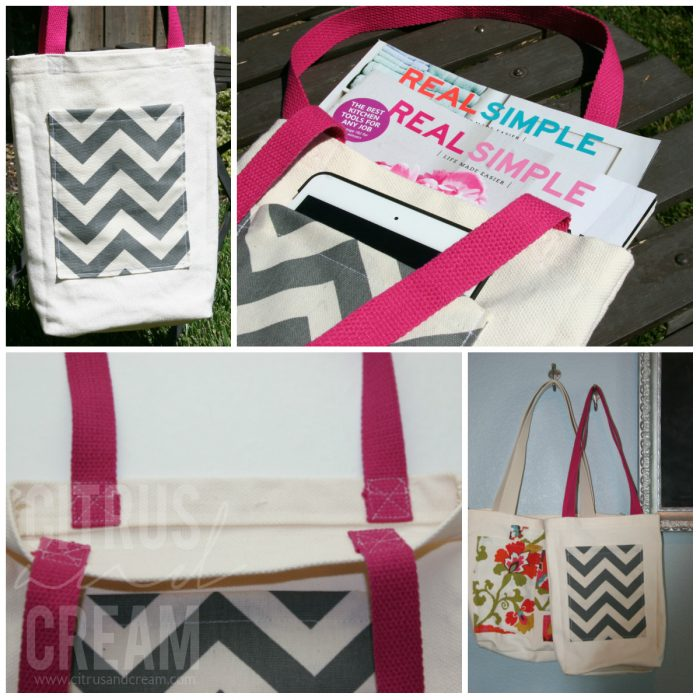DIY Simple Tote Bag