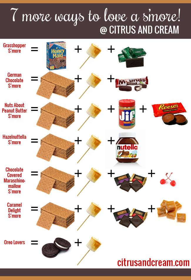 7 More Ways to LOVE a S'more!