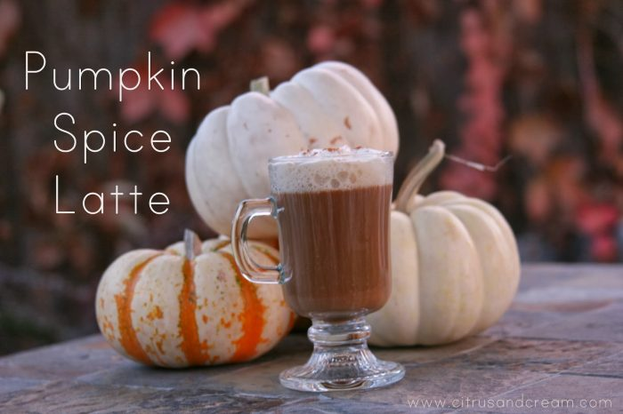 Perfect Pumpkin Spice Latte (Made At Home!)