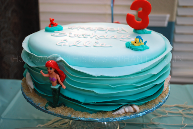Miss E's 3rd Birthday- Under the Sea Themed Party!