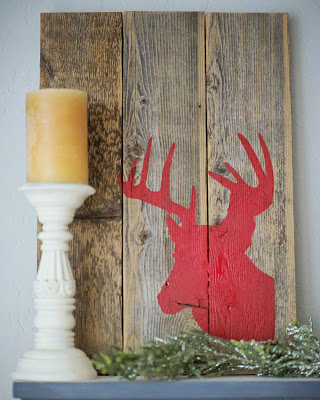 Red Moose Custom Sign by Junk in the Trunk 559