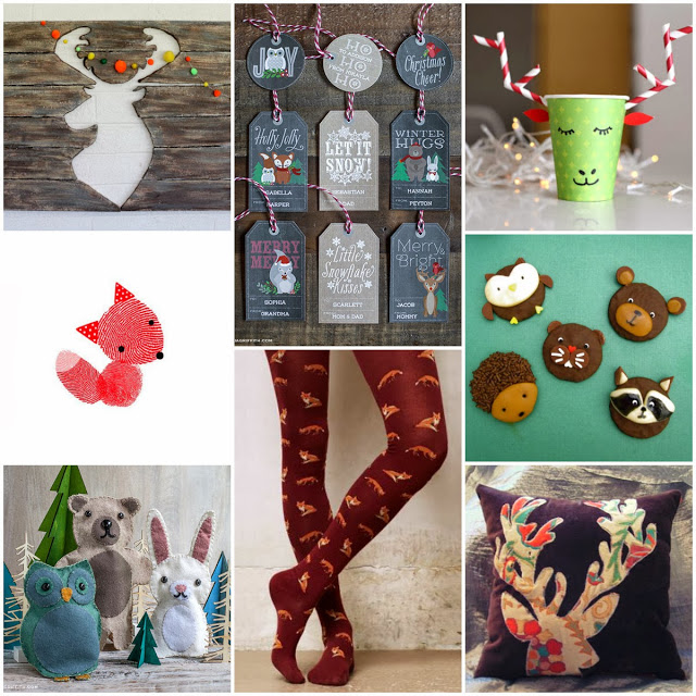 Trends Brought Home: Wintry Woodsy Wildlife {Pinterest and Local Round-Up!}