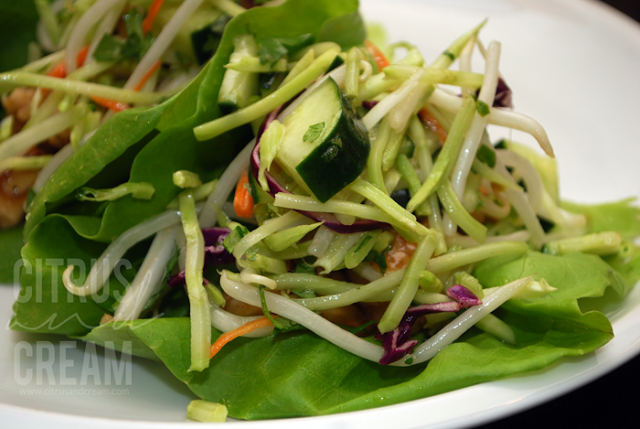 In Season: Healthier Asian Lettuce Wraps
