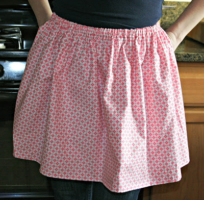 Weekend Project: Sew an Apron (the lazy way!)