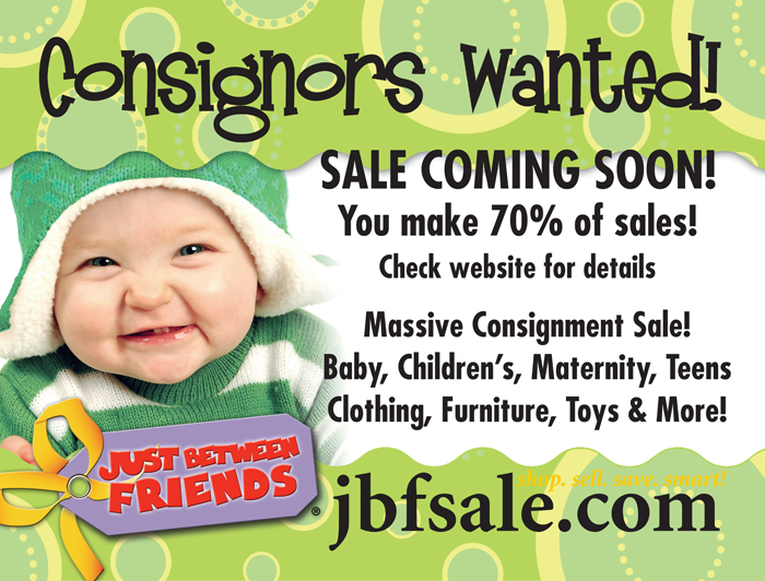 JBF Childrens Sale: Consigning and Volunteering Tips!