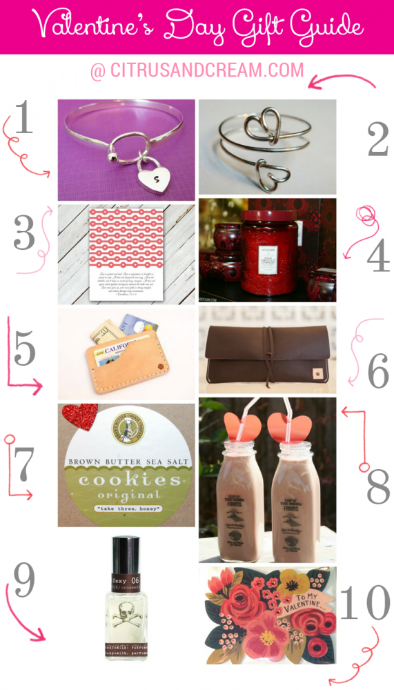 Valentine's Day Gift Guide (or What We're Hoping to Get!)