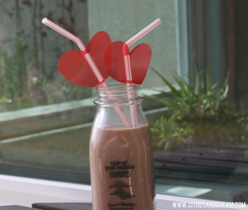 DIY Heart Straws