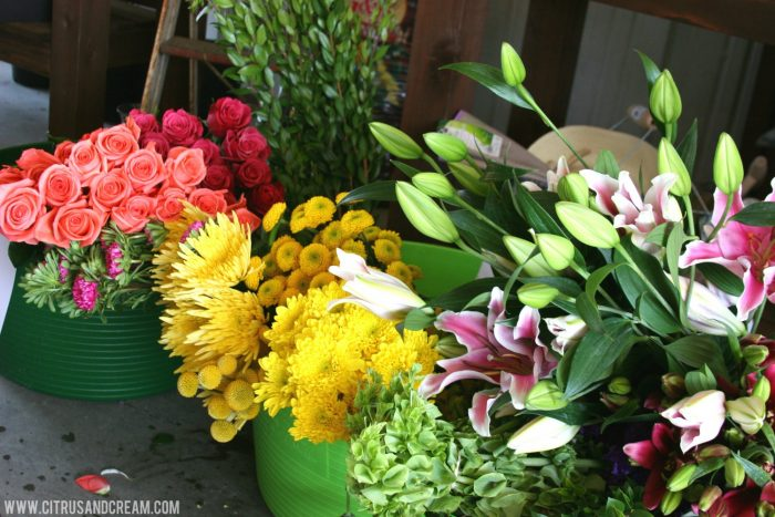 Cut Flower Arranging Tips (Inspired by The Gardens)