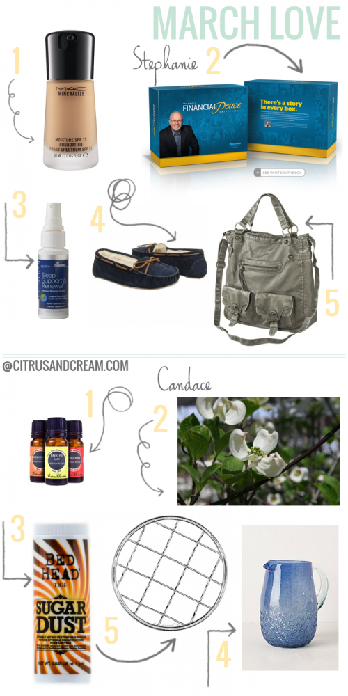 Our Favorites: March Edition