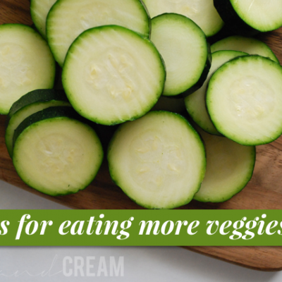 Tips for Eating More Veggies (And a Produce Basket Giveaway!)