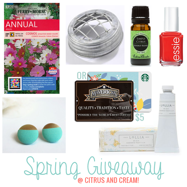 Spring Favorites Giveaway!
