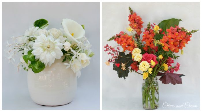 Light & White, or Bold & Bright? What's your flower pick?