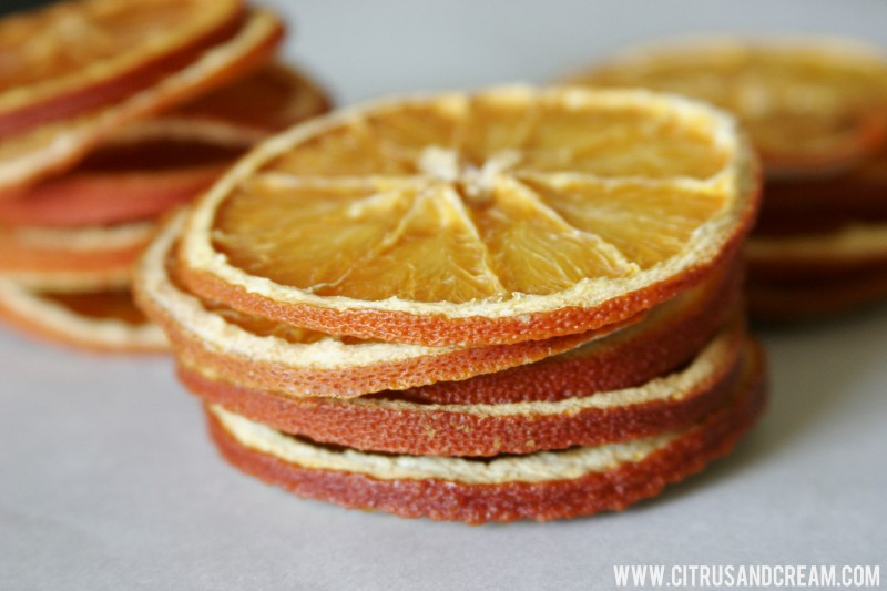 Dried Citrus Rounds