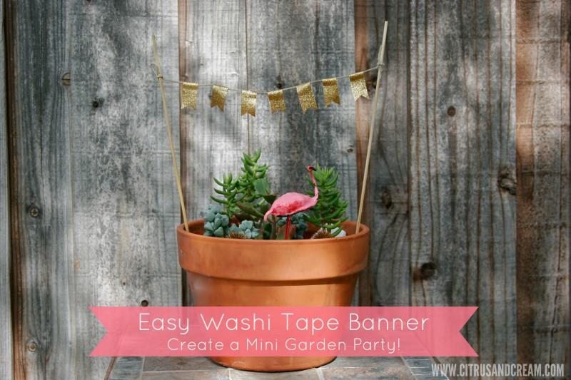 washi tape banner 1
