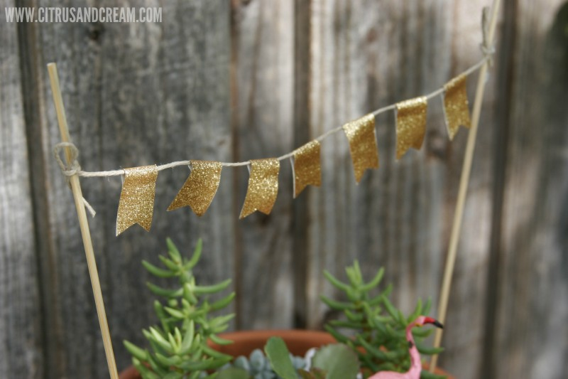 washi tape mini banner