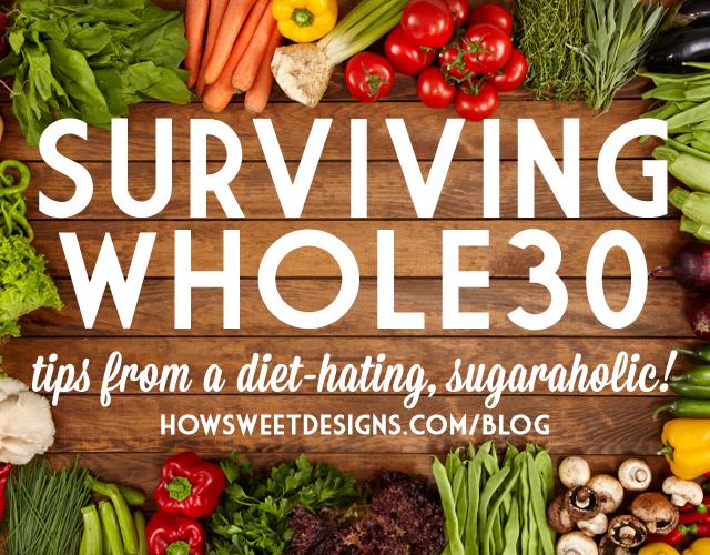 surviving whole30