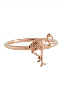 Kirstin Ash flamingo ring