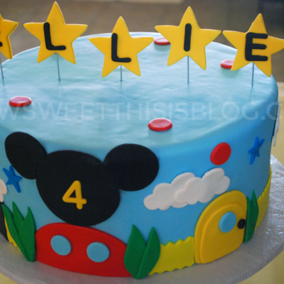 Miss E's 4th Mickey Mouse Clubhouse Birthday Party!