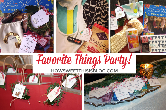 2014 Annual Favorite Things Party