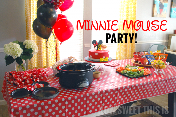 Minnie Mouse Party (Baby A's 3rd Birthday!)
