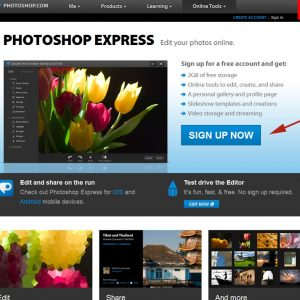 Photoshop Express (FREE!) Watermarking Tutorial